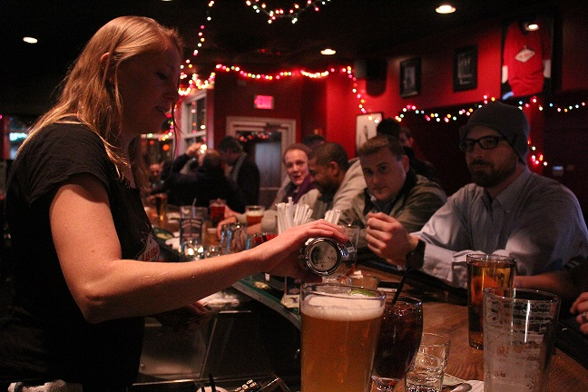 Busy Craft Beer Bar